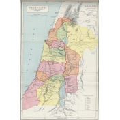 Ephemera 031 Palestina Vintage Map