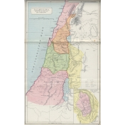 Ephemera 032 Palestina2 Vintage Map