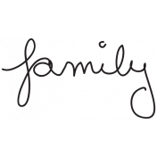Handwritten Family
