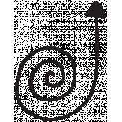 Arrow 042 Stamp Template
