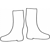 Doodle Boots Template