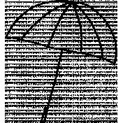 Doodle Umbrella 01 Template