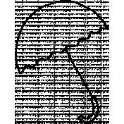 Doodle Umbrella 03 Template