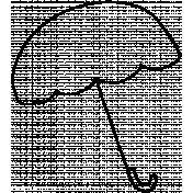 Doodle Umbrella 04 Template