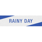 Rainy Day Label 014