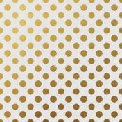 Tpl Gold Foil Paper Polka Dots 35