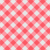 TPL Paper 433 Pink & White Plaid