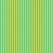 TPL Paper 601 Green Scalloped Stripes