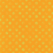 TPL Paper Polka Dots 35 Orange