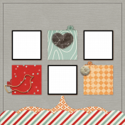 Christmas Quick Pages Kit #6- 2