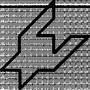 Houndstooth Outline Shape