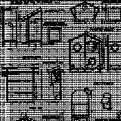Birdhouse Paper 3 Template