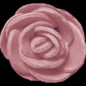 Birdhouse Element Flower Fabric