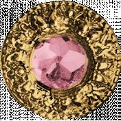 Birdhouse Element Gem Pink
