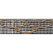 Birdhouse Element Leather Swirl