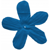 Oregonian Silk Flower- Blue