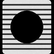 Oregonian Frame D- Black Stripes