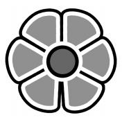 Flower 124b Template