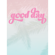 Good Day Journal Card 02 3x4