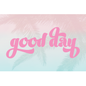 Good Day Journal Card 02 4x6