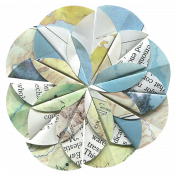 Oregonian Paper Flower H