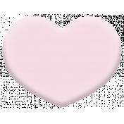 Oregonian Rubber Heart- Pink