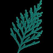 Oregonian Pine Branch- Blue Green