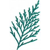 Oregonian Pine Branch- Blue Green