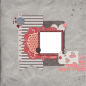 Quick Pages Kit #8 Love Me- 1