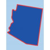 Journal Card Arizona 3x4