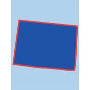 Journal Card Colorado 3x4