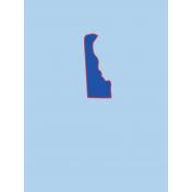 Journal Card Delaware 3x4