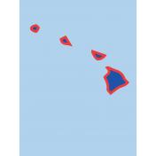 Journal Card Hawaii 3x4