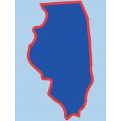 Journal Card Illinois 3x4