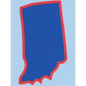 Journal Card Indiana 3x4