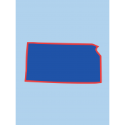 Journal Card Kansas 3x4