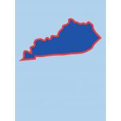 Journal Card Kentucky 3x4