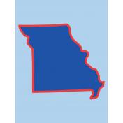 Journal Card Missouri 3x4