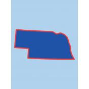 Journal Card Nebraska 3x4