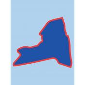 Journal Card New York 3x4