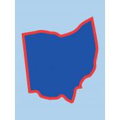 Journal Card Ohio 3x4