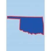 Journal Card Oklahoma 3x4