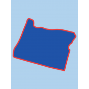 Journal Card Oregon 3x4