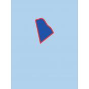 Journal Card Rhode Island 3x4