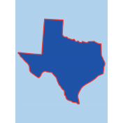 Journal Card Texas 3x4