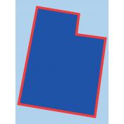 Journal Card Utah 3x4