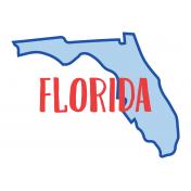 Journal Card Florida 4x6