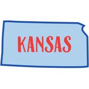 Journal Card Kansas 4x6