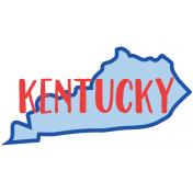 Journal Card Kentucky 4x6