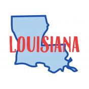 Journal Card Louisianna 4x6